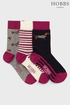 Hobbs Multi Dachsund Sock Set
