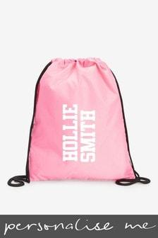 Personalised Sports/PE/Gym/School Drawstring Bag