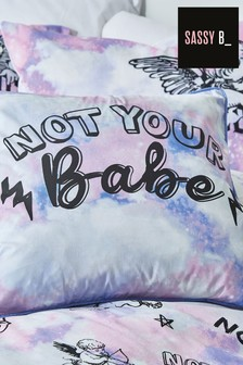 Sassy B Purple Not Your Babe Cushion
