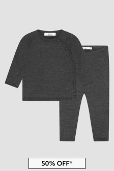 Bonpoint Baby Boys Grey Set