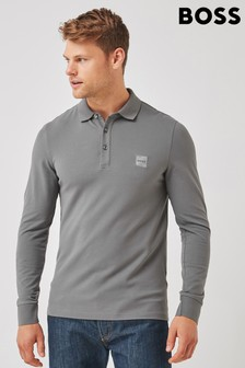 BOSS Grey Passerby Polo