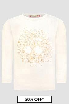 Bonpoint Baby Girls Cream T-Shirt