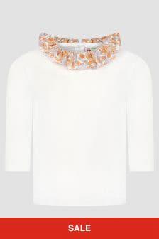 Bonpoint Baby Girls White T-Shirt