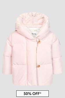 Bonpoint Baby Girls Pink Jacket