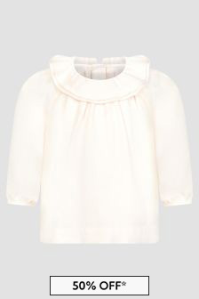 Bonpoint Baby Girls Pink Blouse