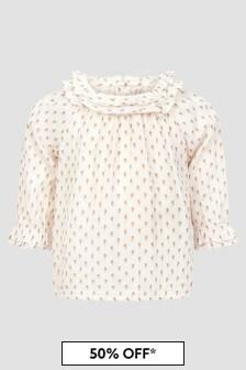 Bonpoint Baby Girls Cream Blouse