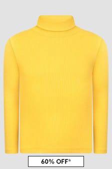Bonpoint Girls Yellow T-Shirt