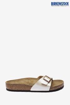 Birkenstock Madrid Graceful Pearl White Sandals