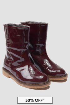 Bonpoint Girls Brown Boots