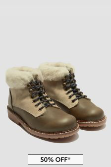 Bonpoint Boys Brown Boots