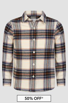 Bonpoint Boys Cream Shirt