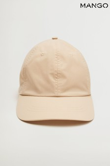 Mango Brown Cap With Visor