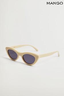 Mango Yellow Cat Eye Sunglasses