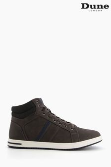 Dune London Grey Voyage High Top Trainers