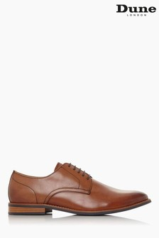 Dune London Brown Suffolks Leather Smart Gibson Shoes