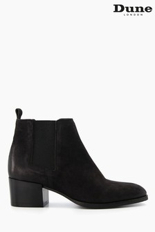 Dune London Black Payger Casual Ankle Boots