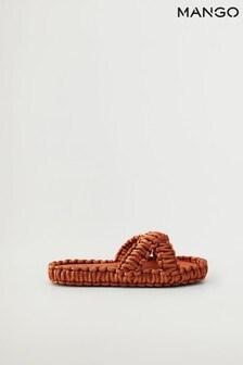 Mango Knots Fabric Sandals
