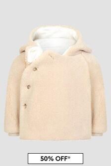 Bonpoint Baby Cream Coat