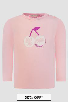 Bonpoint Baby Girls Pink T-Shirt