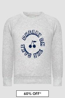 Bonpoint Girls Grey T-Shirt