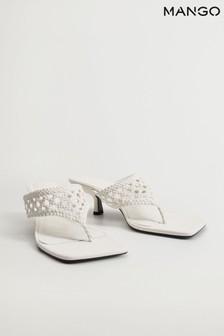Mango Braided Heel Design Sandals