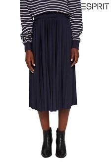 Esprit Womens Pleated Skirt