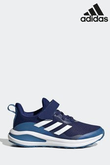 adidas Blue FortaRun Elastic Lace Top Strap Running Shoes