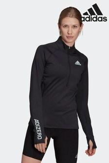 adidas Adizero 1/2 Zip Long Sleeve Top