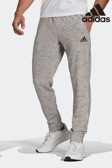adidas Grey Essentials Mélange Joggers
