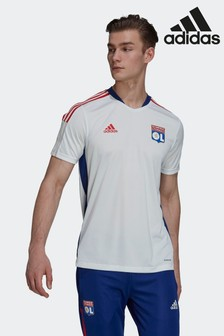 adidas White Olympique Lyonnais Tiro Training Jersey