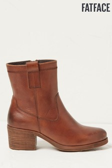 FatFace Hollie Block Heel Boots