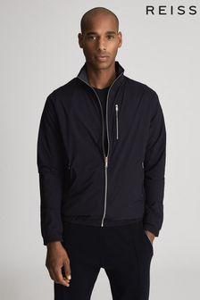Reiss Chambers Lightweight Zip Through Jacket