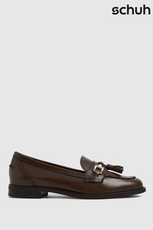 Schuh Lizbeth Leather Tassel Loafer