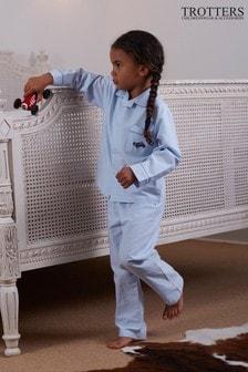 Trotters London Blue Henry Pyjamas