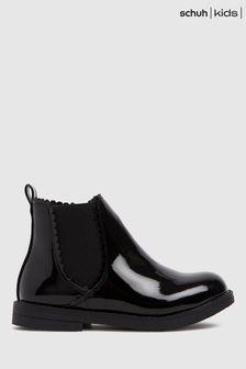Schuh Kids Black Chic Chelsea Boots