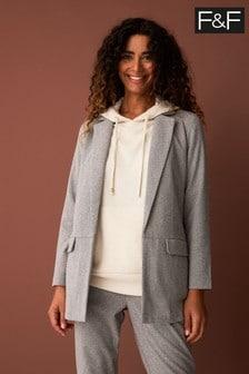 F&F Grey Blazer: Jacket