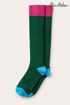 Boden Green Long Chunky Socks