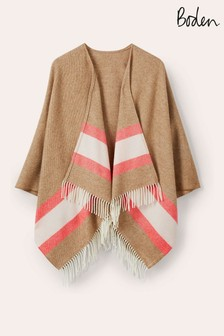 Boden Natural Wool Cape