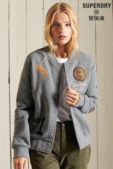 Superdry Collegiate Jersey Bomber Jacket