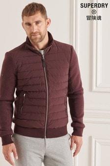 Superdry Studios Padded Knit Mix Jacket