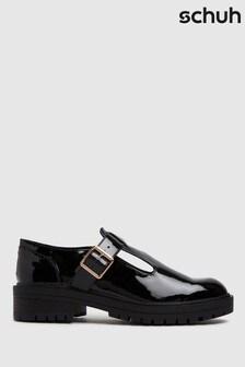 Schuh Lani Patent T-Bar Shoes