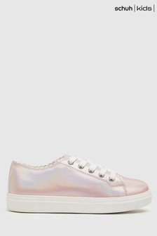 Schuh Majesty Scallop Lace Up Trainers