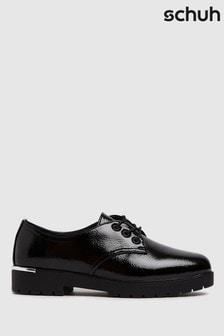 Schuh Logan Patent Lace Up Shoes