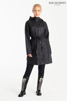 Ilse Jacobsen Black True Raincoat