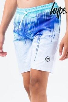 Hype. Blue Drips Swim Shorts