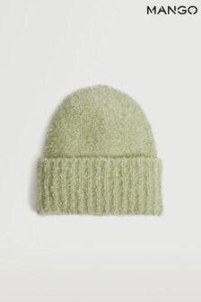 Mango Womens Green Hat