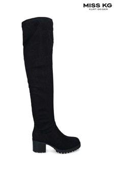Miss KG Black Jilted Boots