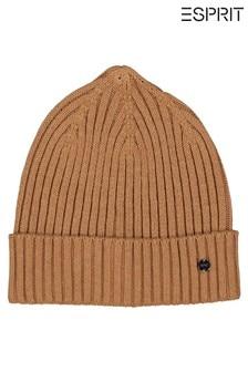Esprit Womens Brown Hat/Cap