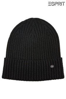 Esprit Womens Black Hat/Cap