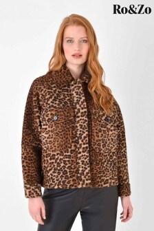 Ro&Zo Animal Short Retro Jacket